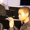 12/16/19 - Clark Winter Concert - Varsity Band Warm-Ups (on Stage)
