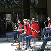 4/10/21 - Clark Jazz Band performing at the Central Cluster Jazz concert by the pond.