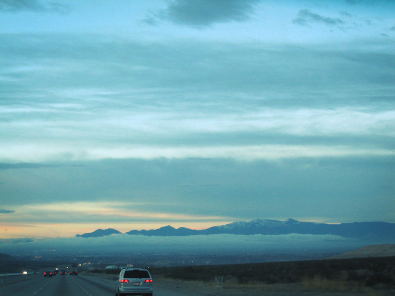 Las Vegas to LA - interstate 15