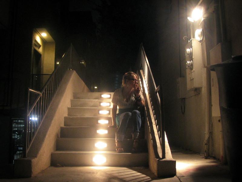 Santa Monica, California - the ever-lovely Stephanie