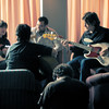 ATP - The Breeders acoustic session in the lobby