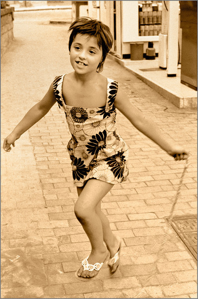 Playful in Naples (Naples, Italy, 1973)