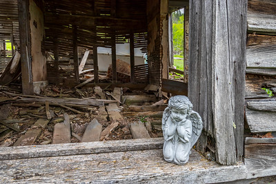 Boarding House at the Ghost Town of Preston