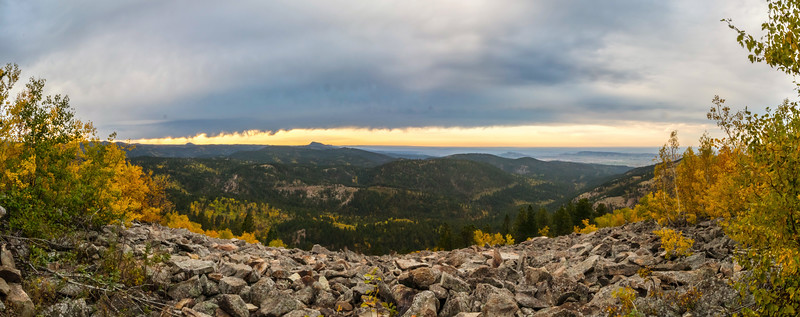 View from Mt.Roosevelt