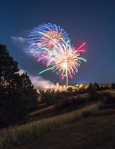 Fireworks at Belle Fourhce