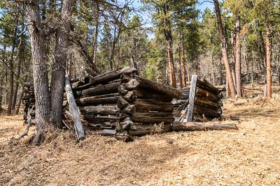 Old Cabin near the Cuyhogo Mine