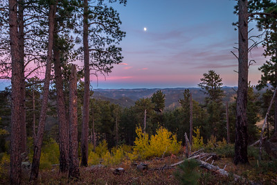 View from Spearfish Mountain