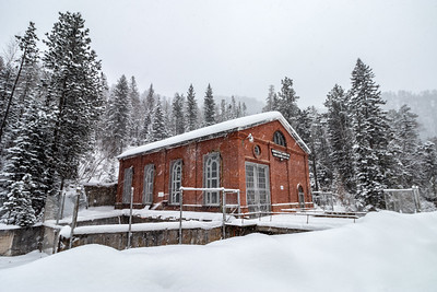 Maurice Hydroelectric Plant in Spearfish Canyon