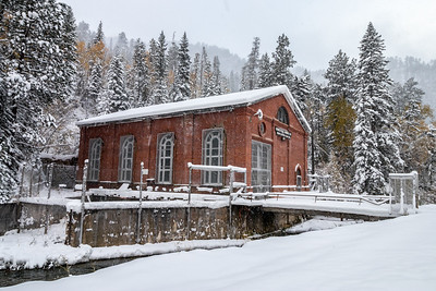 Maurice Hydro Plant in Spearfish Canyon