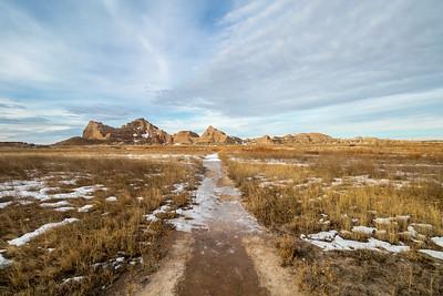 Castle Trail in Badlands National Park