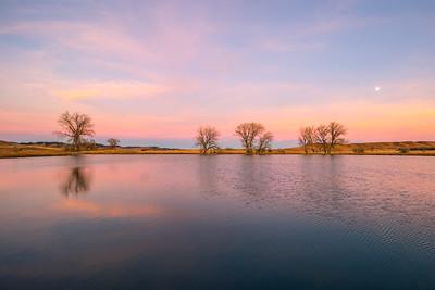 Sunset Skies at Cox Lake