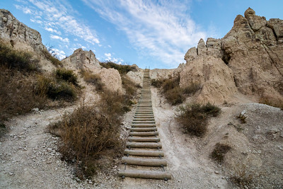 Notch Trail in Badlands National Park