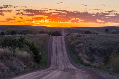 Sunrise near Spearfish