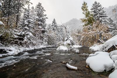 Spearfish Creek in Spearfish Canyon