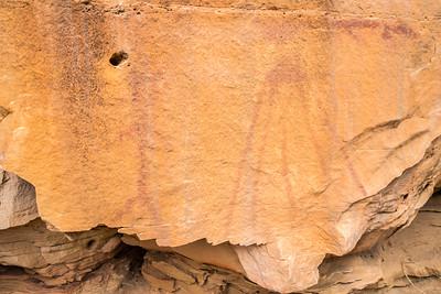 Ancient Petroglyphs in Craven Canyon