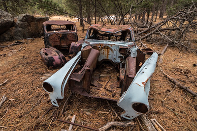Abandoned Cars at Spokane