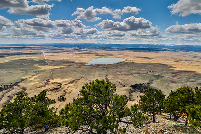 View from the Top of Bear Butte