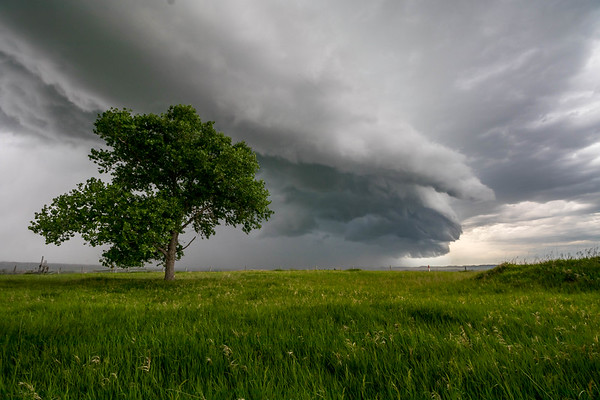 Storm over Spearfish