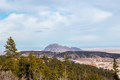Overlooking Bear Butte