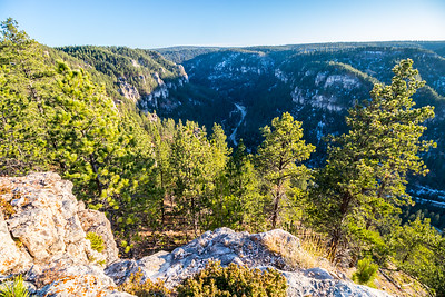 View of Spearfish Canyon