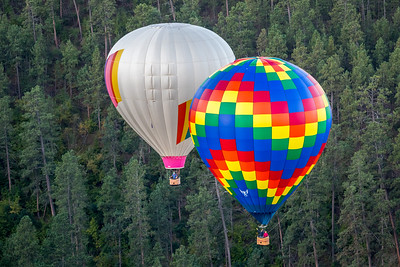 Stratobowl Hot Air Balloon Launch