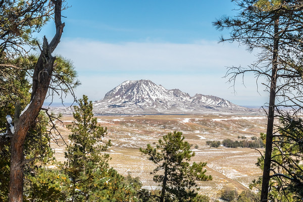 View of Bear Butte