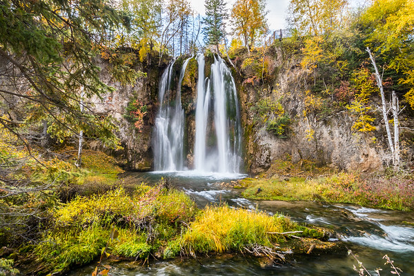 Spearfish Falls in Spearfish Canyon