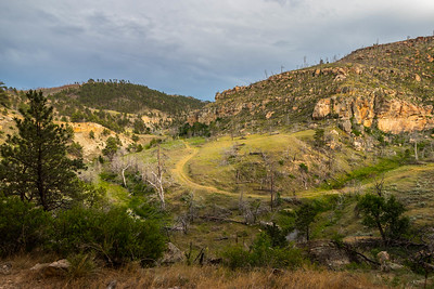 Craven Canyon near Edgemont