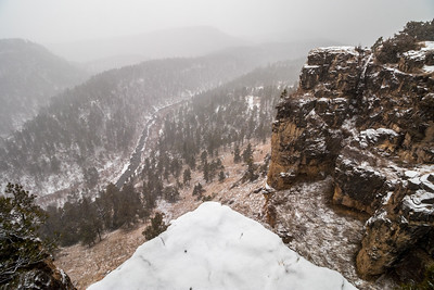 Wintery Day at Falling Rock