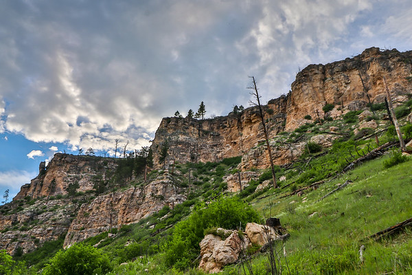 Evening Light in Hell Canyon