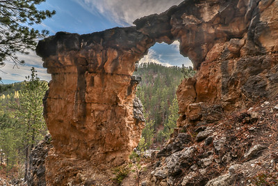 Iron Creek Arch