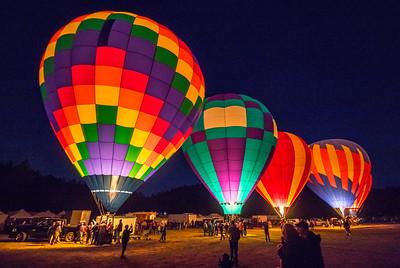 Hot Air Balloon Glow Event