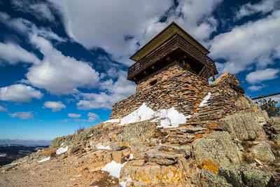 Custer Peak Fire Lookout Tower