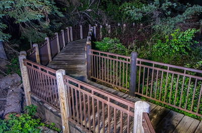 Boardwalk at Roughlock Falls