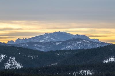 View of Black Elk Peak & the Cathedral Spires