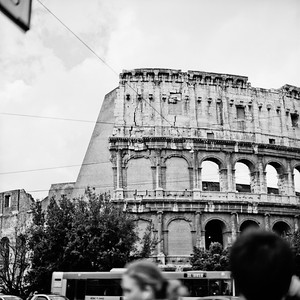 Colosseum in Rome Photograph 6