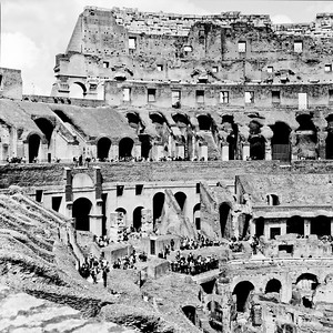 Colosseum in Rome Photograph 11