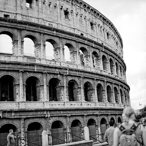 Colosseum in Rome Photograph 4