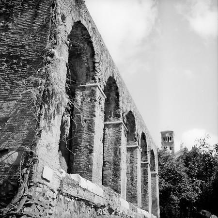 Architecture in the Roman Forum Photograph 1