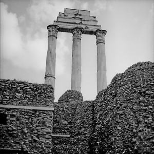 Architecture in the Roman Forum Photograph 5