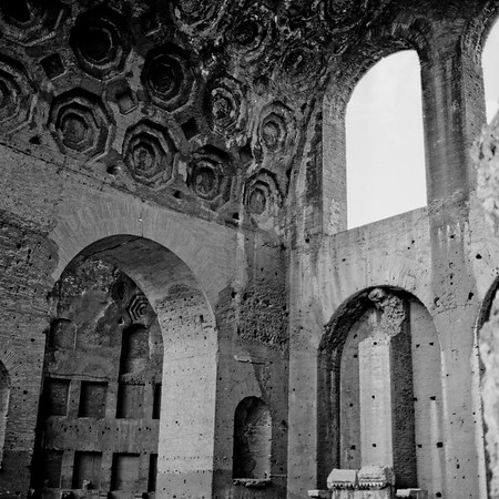 Architecture in the Roman Forum Photograph 8