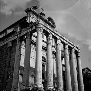 Architecture in the Roman Forum Photograph 7