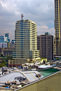 Manila Cityscape Photograph 3