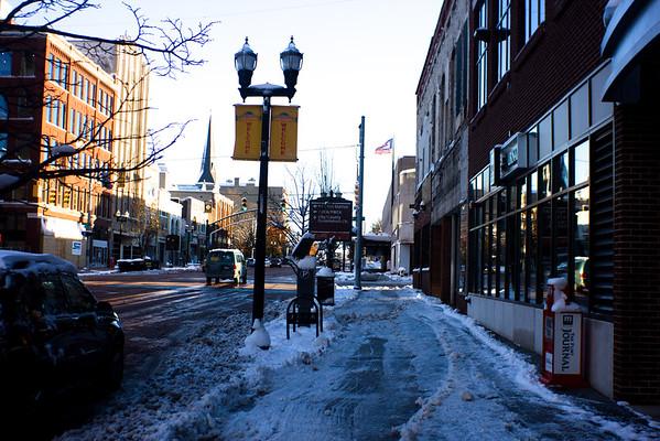 27 Winter in DownTown Flint