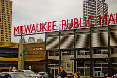 Walking through Milwaukee Public Market Photograph 13