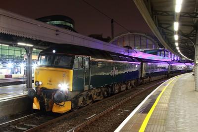 57605 on the 1C99 London Paddington to Penzance at Paddington on the 19th February 2017