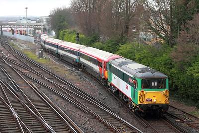 73202+442402 on the 1Z45 1403 Brighton to Brighton via Preston Park and Hove Yard, departing Hove Yard 27L on 12th March 2017 2