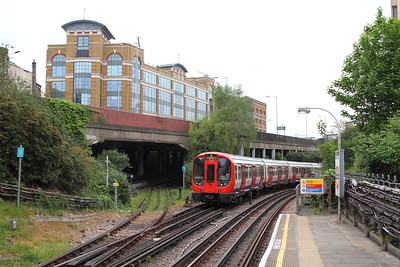 21336 on a Barking service at West Kensington on the 7th May 2017