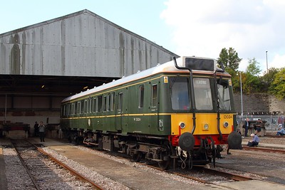 121034 at Old Oak Common on the 2nd September 2017