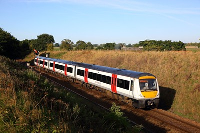 170203 on the 2P11 0846 Great Yarmouth to Norwich at Acle on the 24th September 2018
